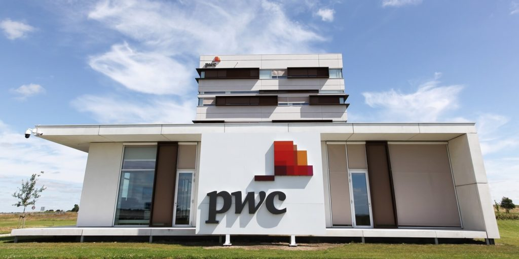 PWC building, one of the top companies for working parents