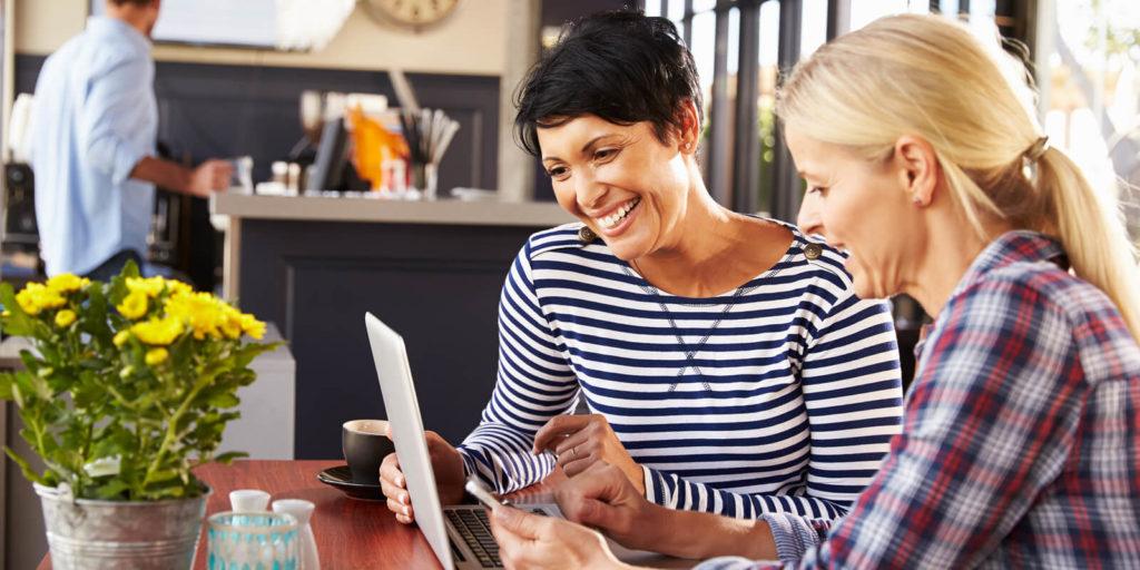 Woman deciding to be a freelancer