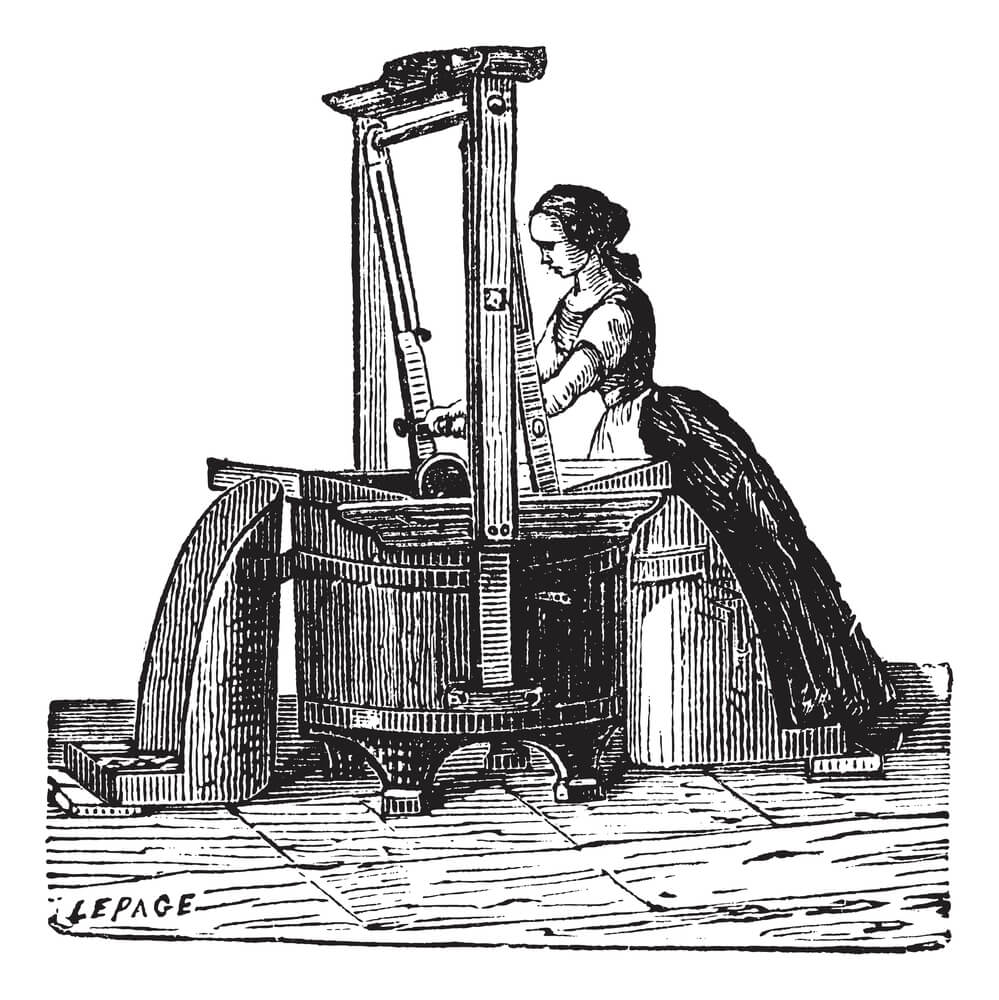 19th-Century-Woman-Doing-Laundry-
