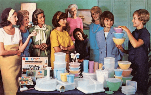 1950s Tupperware party