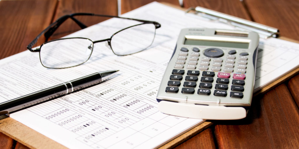 Example of materials used for a virtual accounting job.