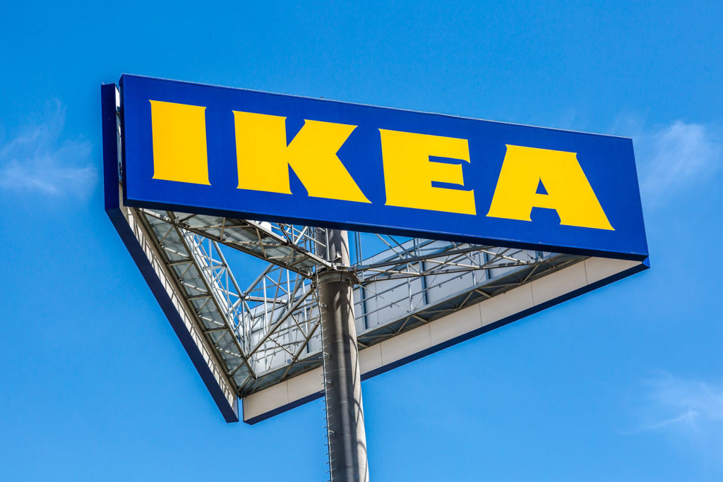 Ikea, one of the companies hiring right now like crazy.