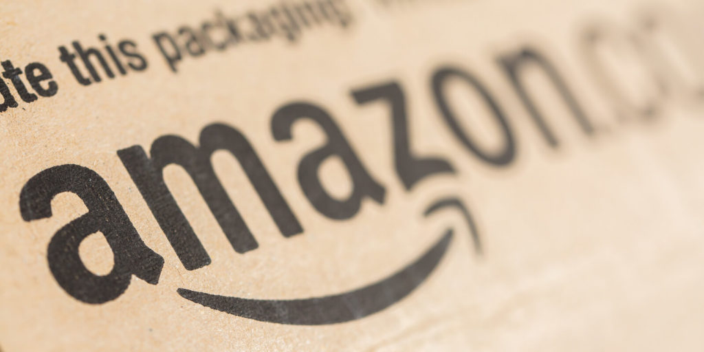 Amazon, one of the top 100 companies for remote jobs.