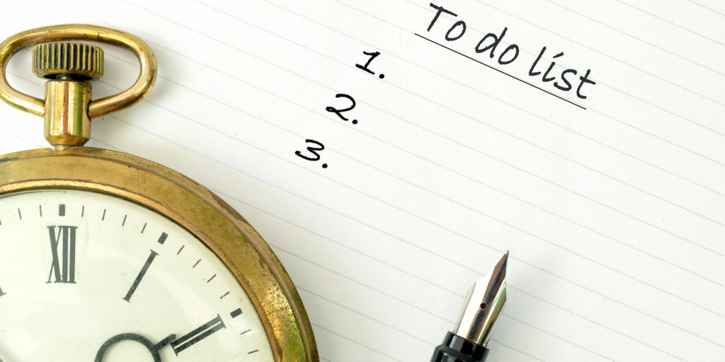 To-do list for things to remember in your new remote job