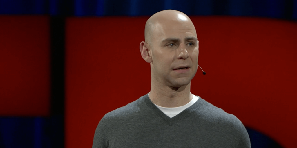 Wharton professor Adam Grant talking about receiving criticism