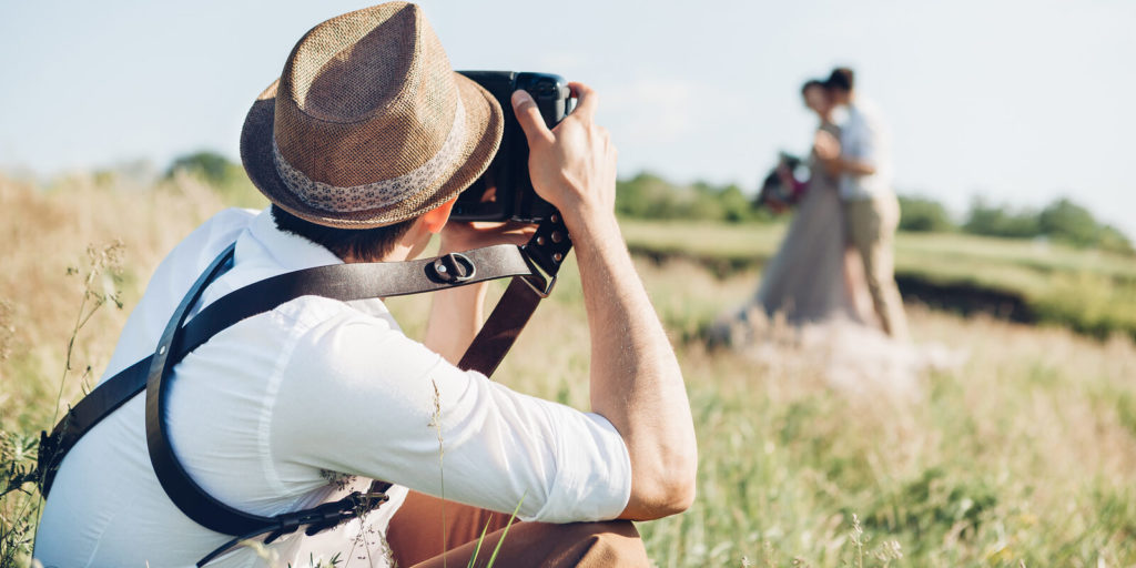 man with freelance photography jobs