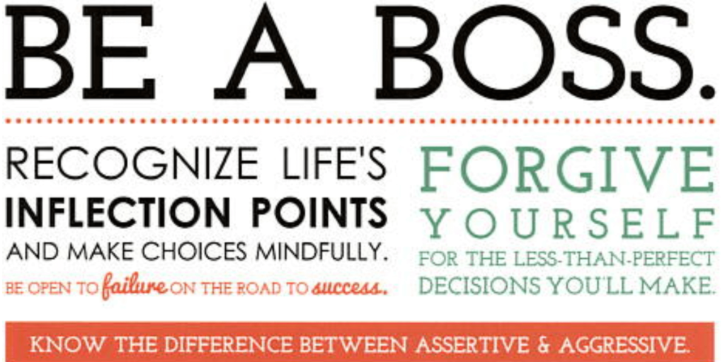 How to be a boss infographic