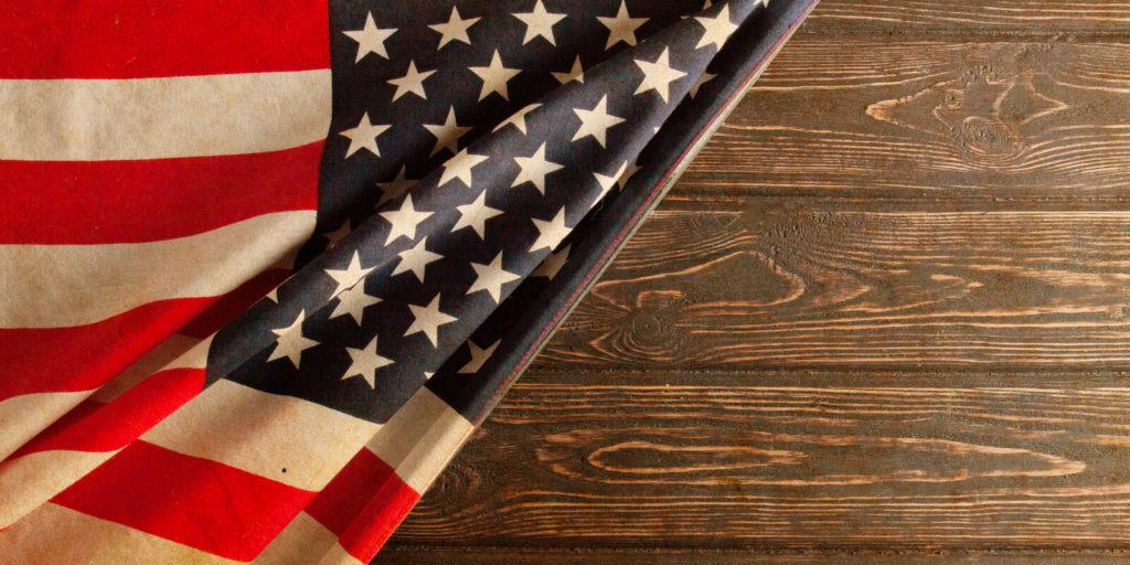 American flag, for the hottest flexible jobs for veterans