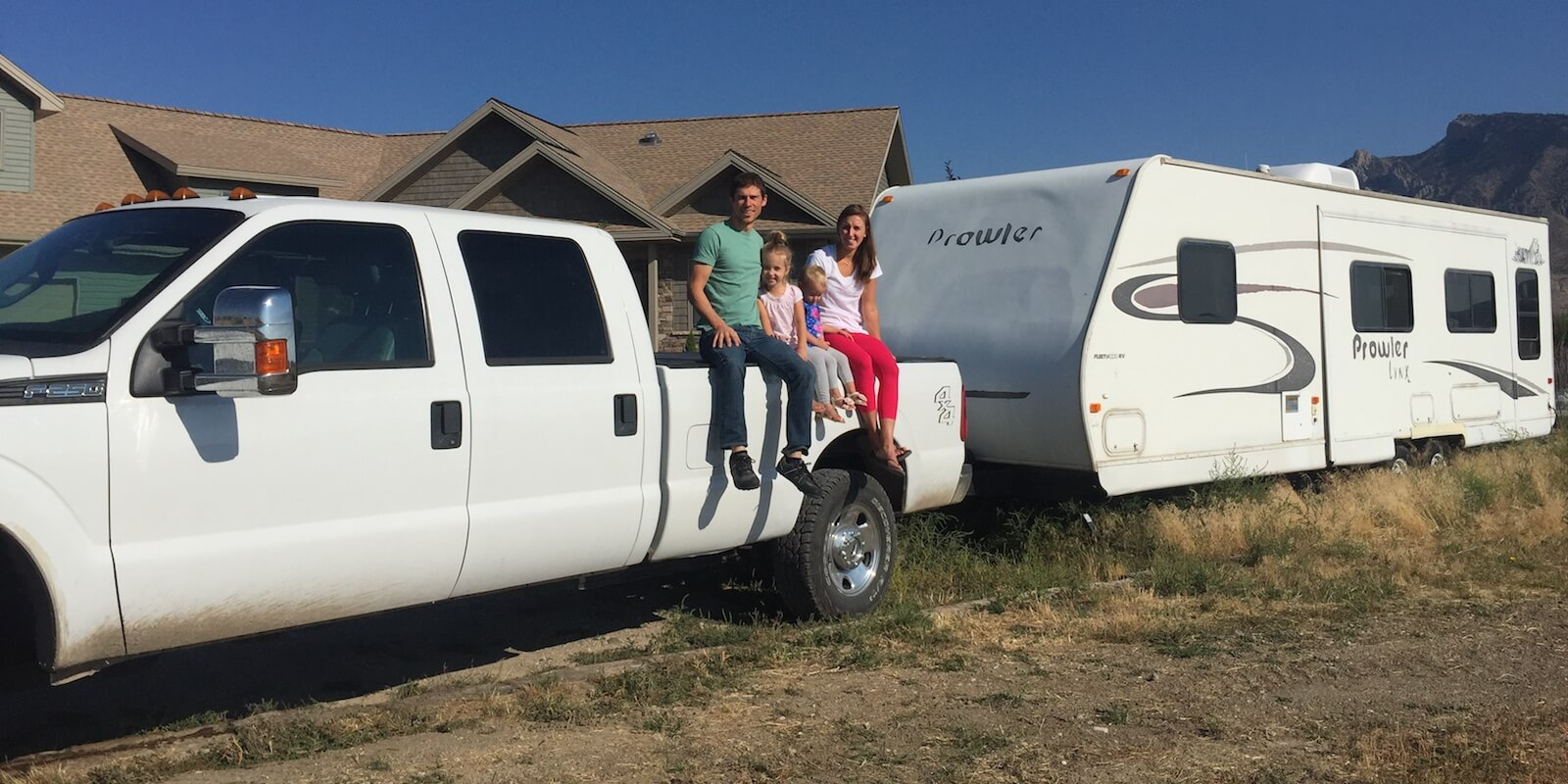 Jason Byer, a digital nomad on a remote work road trip with his family