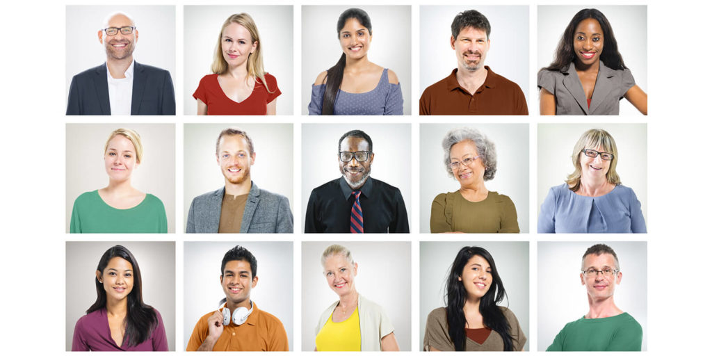 Millennials and older workers with varying attitudes about key workplace issues