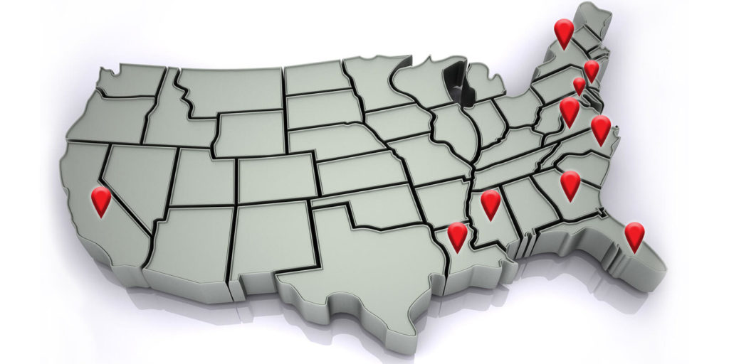 States where you may want to find a remote job