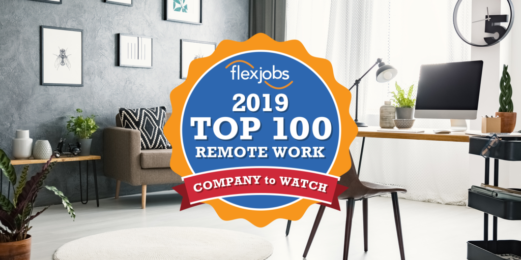 Top 100 companies with remote jobs in 2019