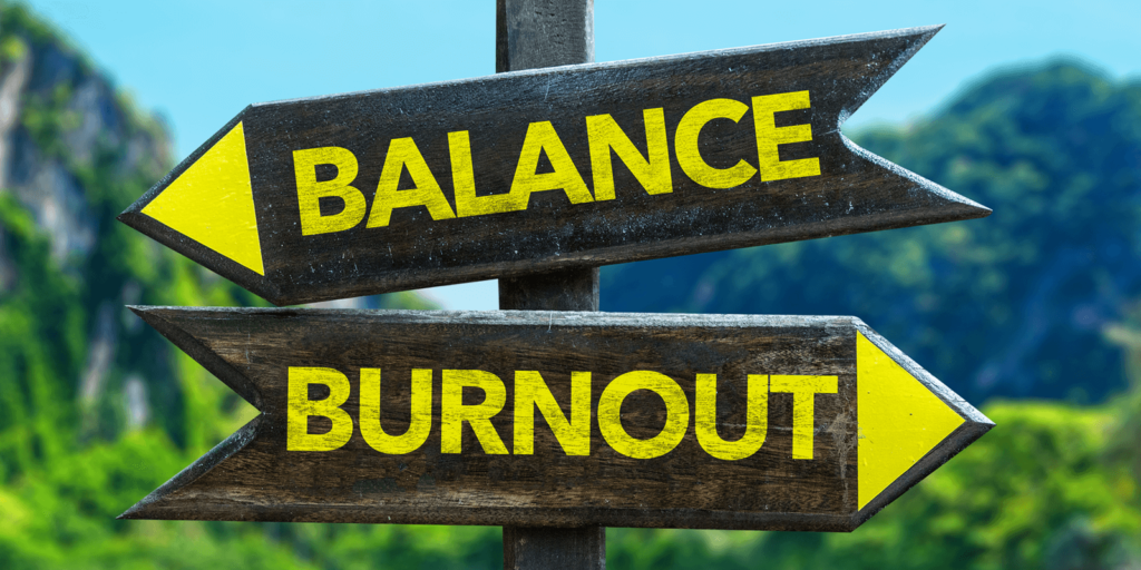 How to avoid work-life burnout