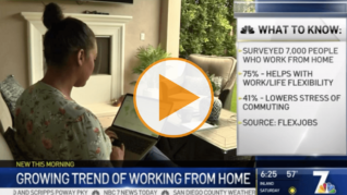 Woman gets remote job, cuts out San Diego commute
