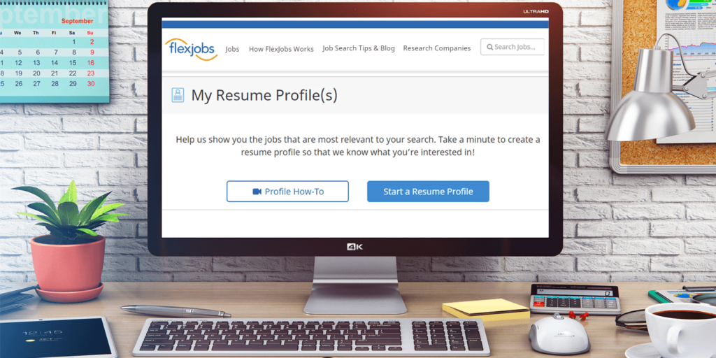 How to Create a FlexJobs Resume Profile