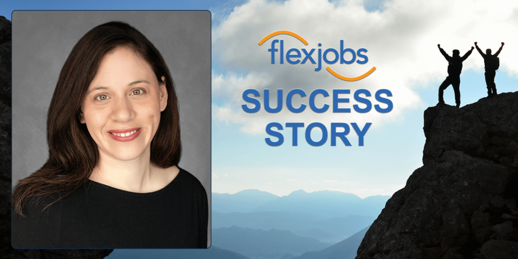 With Remote Marketing Job, Woman Improves Family and Career Balance