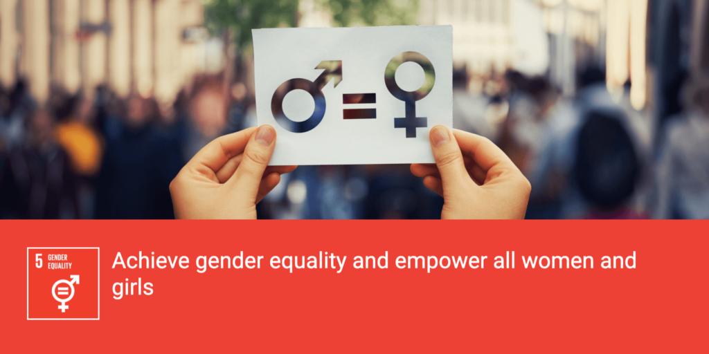 SDG Breakout Article: Goal 5 -- Gender Equality