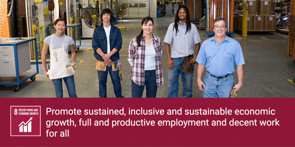 SDG Breakout: Goal 8 -- Decent Work and Economic Growth