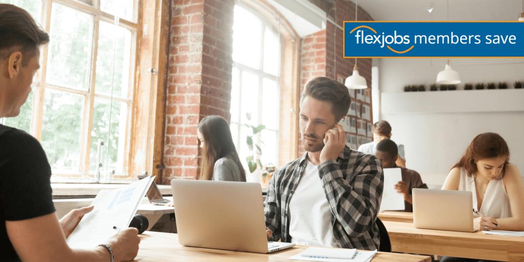 FlexJobs Members Save on Coworking Membership at Upflex