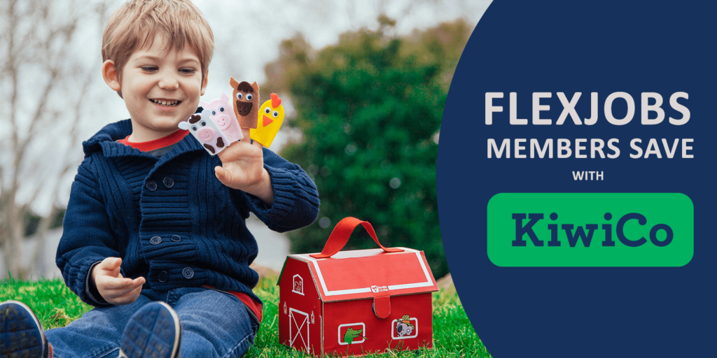 FlexJobs Members Save Time and Sanity with KiwiCo