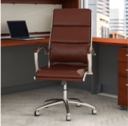 A photo of an ergonomically correct office chair