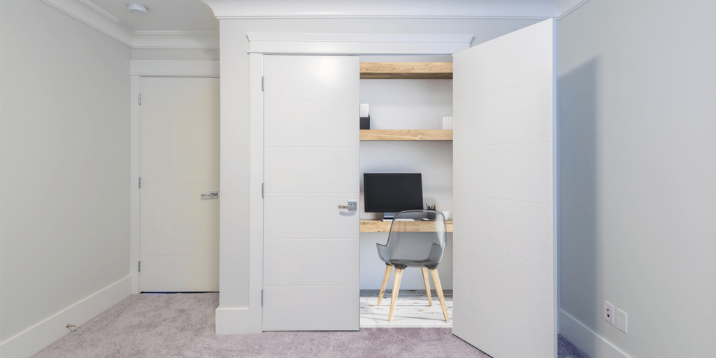How to Turn a Closet into a Home Office | FlexJobs