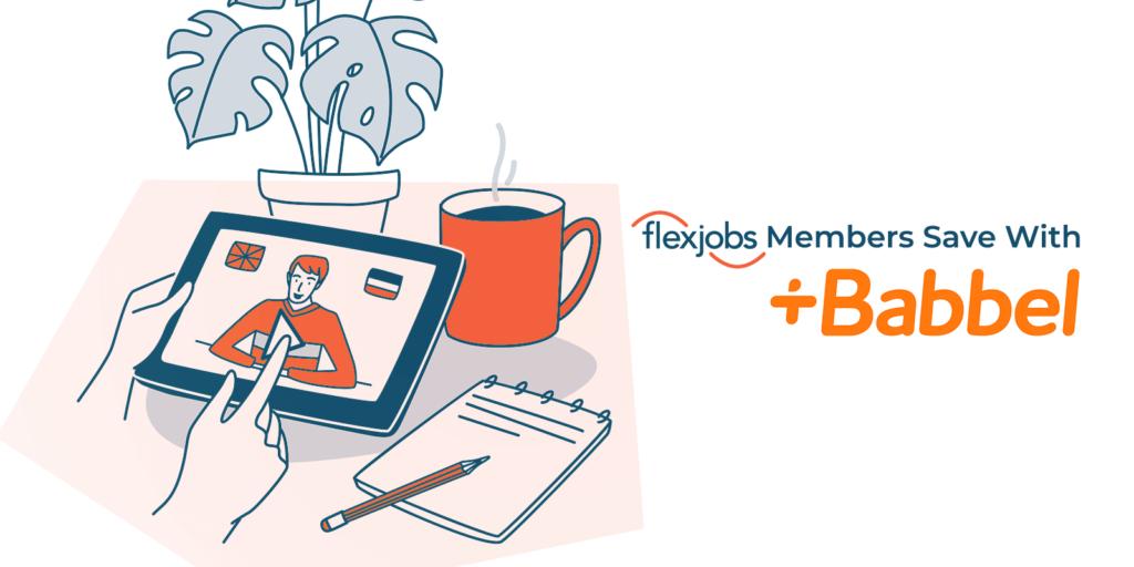 Babbel_flexjobs member savings
