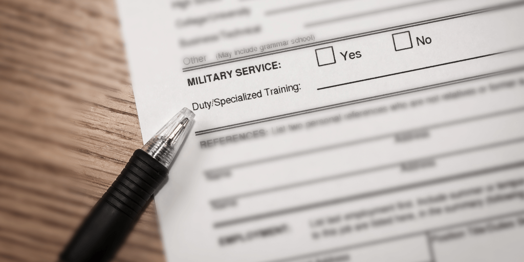 Should You Disclose Your Military Status in a Job Application?