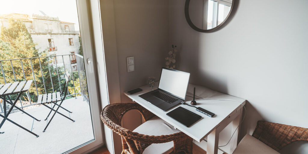 Cool home office design ideas work from home (1)