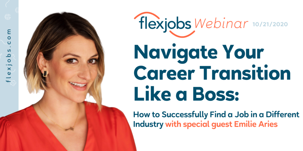 navigate your career transition like a boss webinar