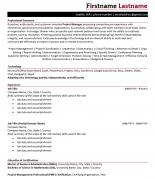 Hybrid resume example