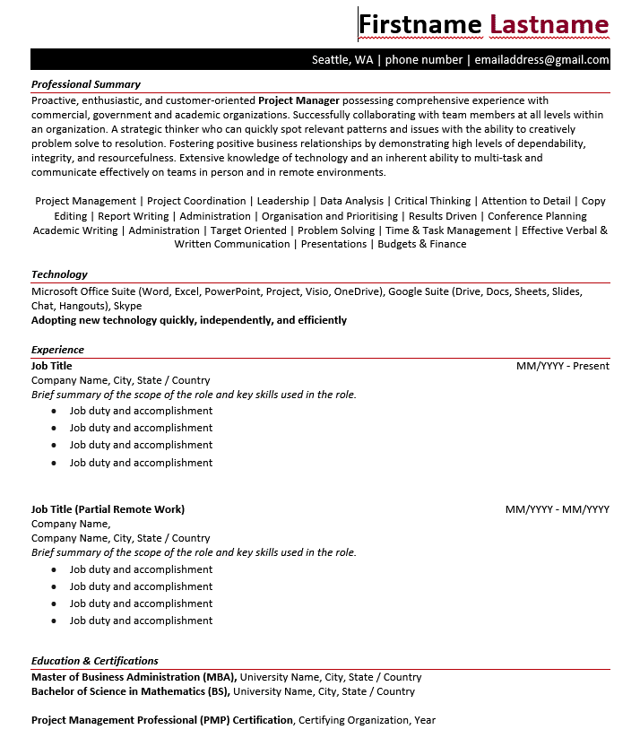 What Are the Different Types of Resume Formats? 2