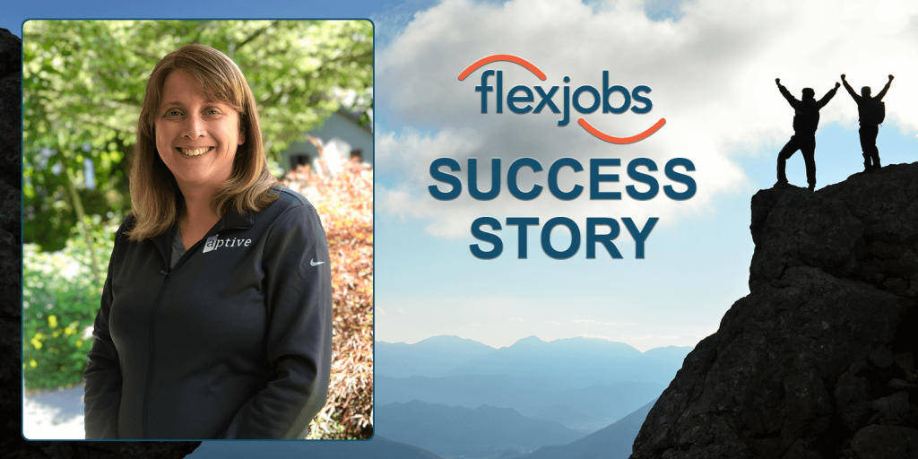 Woman Finds Flexibility, Balance, Thanks to Remote Job