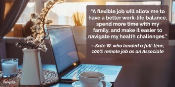 Remote Job Provides Woman With Flexibility, Balance 2