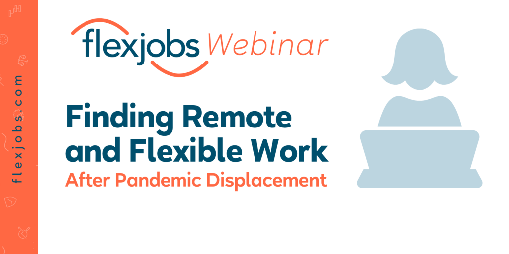 finding remote and flexible work after displacement webinar