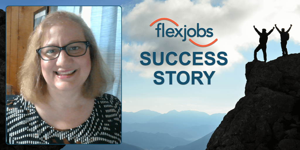 Woman Works Less, Makes More With Flexible Job