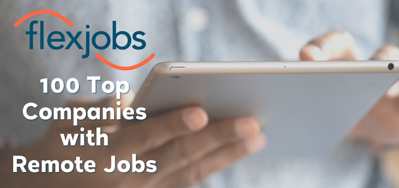 top 100 companies with remote jobs